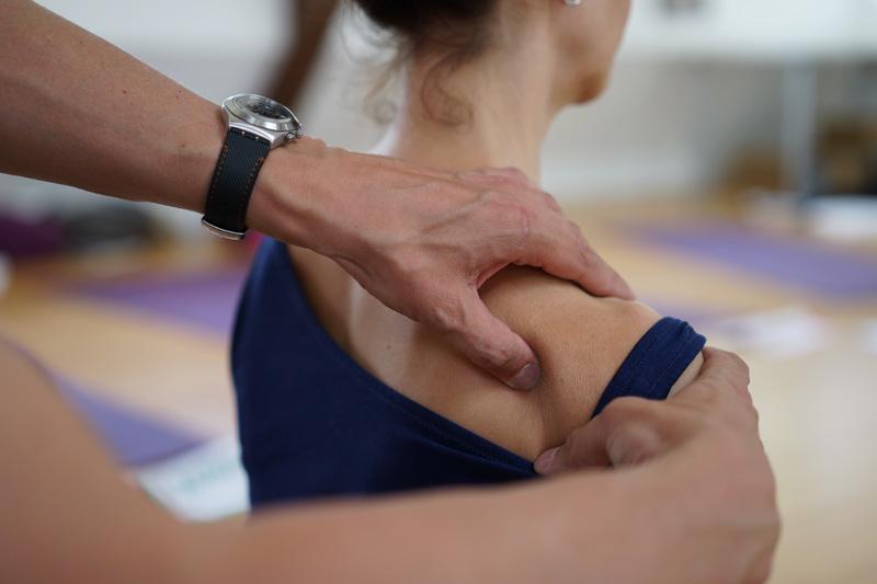 Energielinie Therapie Rückenbereich
