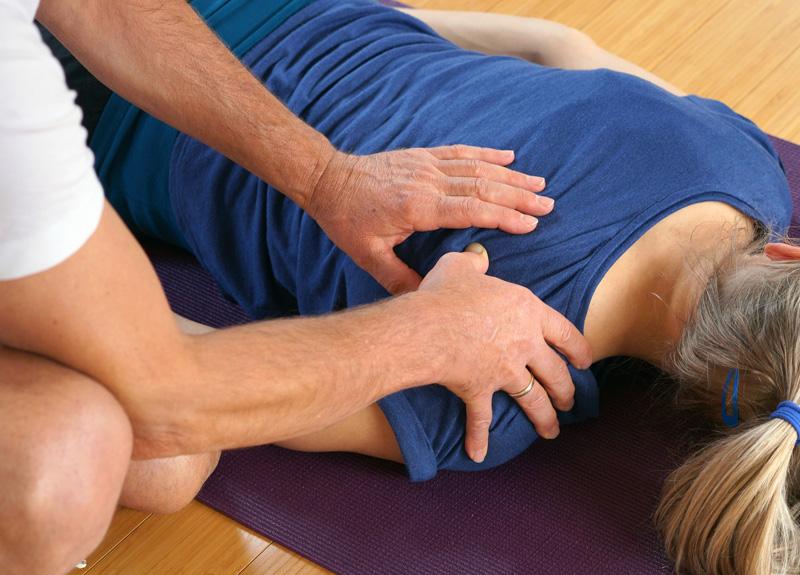 Energielinie Therapie Schulterbereich