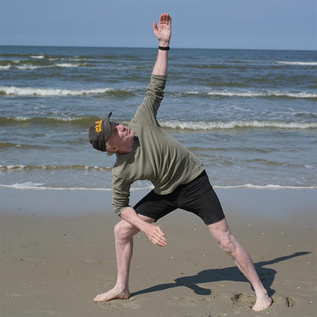 Ulrich Lehmann Yoga am Strand